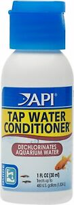 API TAP WATER CONDITIONER Aquarium Water Conditioner 1-Ounce Bottle