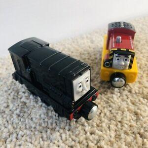 Salty & Diesel 2013/14 Thomas And Friends Electronic Talking Metal Trains Mattel