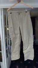 "MARMOT Men Beige with a grey tint Walking Trekking Trousers Size 32/26"""
