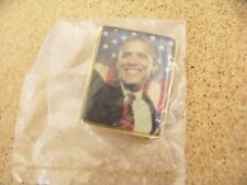 Barack Obama photo lapel pin, fully licensed President