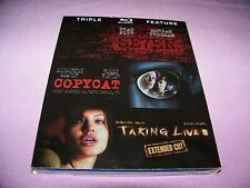 Se7en/Copycat/Taking Lives (Blu-ray Disc, 2012, 3-Disc Set) Oop Sealed
