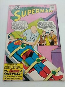 Superman #149, First Death of Superman (6.5)