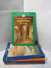 CANCIONES: SELECCION Graded Spanish Literature Libros en Espanol