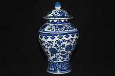 Exquisite China Tradition Hand Painted Blue and White Porcelain Jar & vase