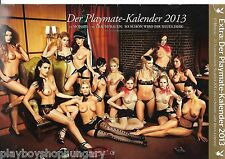 CALENDAR / KALENDER Playboy Germany / Deutschland - Playmates 2013