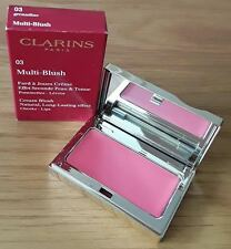 BNIB Clarins long lasting Cheeks & Lips Grenadine/ Red & pink compact Blusher's