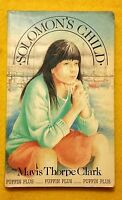 Solomon's Child by Mavis Thorpe Clark vintage teen fiction Puffin Plus paperback