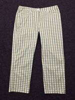 RM Williams Pants Womens ~ Size 11 ~ Great Cond Checkered Print Relaxed Style