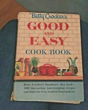 1954 Vintage Betty Crocker's Good and Easy Cookbook, 1st Edition 7nd Printing