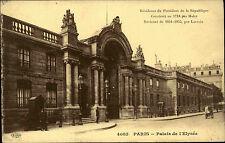 París francia france 1910 corriendo a Fráncfort Palais de l 'palacio elíseo