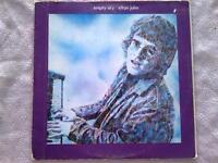ELTON JOHN - EMPTY SKY  - LP/VINILO - UK - 1969 - (EX/NM - EX/NM)