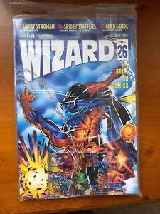 Wizard #26 (Oct, 1993) - Foldout Spider-Man/Hobgoblin Poster! Sealed MINT