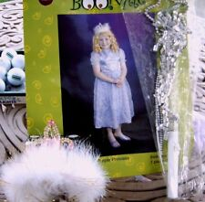 Halloween Costume Princess with Tiara Crown and Light-up Wand Size Small