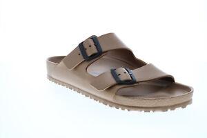 Birkenstock Arizona EVA 1001499 Mens Brown Synthetic Flip-Flops Sandals Shoes 12