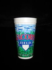 Cleveland Indians Souvenir Collectors CUP soda beer 1996 Jacobs Field Vintage