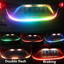RGB LED Car Vehicle Rear Trunk Tailgate Turn Signal Lamp Tail Brake Light Strip