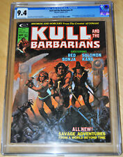 Kull and the Barbarians #3 CGC 9.4 (Origin of Red Sonja) OFF-WHITE/WHITE PAGES!!