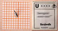 eine UNRUHWELLE für AU, TU + Wecker: AUSWAHL aus 1000 Flume-Nummern: Unruhwellen