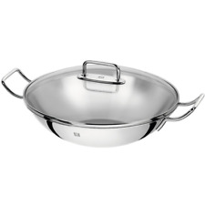 ZWILLING J.A. HENCKELS Stainless Steel Wok with two handles