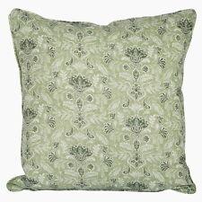 Kissenhülle Kissenbezug Kissen 45 x 45 007 pastell-grün Baumwolle Landhaus Retro