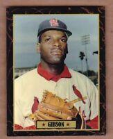Bob Gibson '65 St Louis Cardinals Ultimate Baseball Card Collection #42