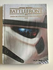 Guide Star Wars Battlefront Collector FR Neuf Sous Blister