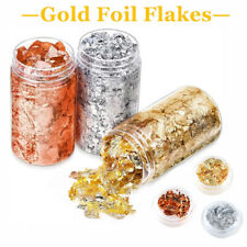 Charm Aluminum Foil Flakes Nail Art Sequins Fragments Glitter Decor Accessories