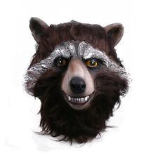 2017 Guardians Of The Galaxy Vol.2 Mask Cosplay Rocket Raccoon Halloween Mask
