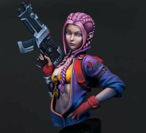 Resin Figure Kit Candy Chan Bust Unpainted Garage Kit Mpdel Kit
