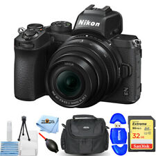 Nikon Z50 Mirrorless Digital Camera with 16-50mm Lens + 32GB + Gadget Bag Bundle
