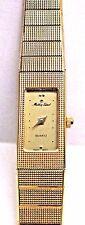 Vinage Lds Mathey Tissot Quartz Yellow Gold Plated Wrist Watch. 180 mm Long