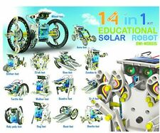 OWI-MSK615 ROBOT KITS 14 in 1 Solar Robot Kit