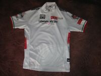 GIRO D'ITALIA 2009 WHITE CLASSIFICATION  SANTINI CYCLING JERSEY [L]