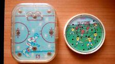 USSR pocket games Hockey and Football