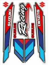 Motorcycle Fuel Tank Emblem Decals for S Suzuki Racing Body Reflective Stickers