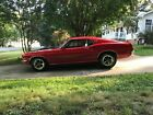1969 Ford Mustang Mach 1 Fastback 1969 Ford Mustang Coupe Red RWD Manual Mach 1 Fastback