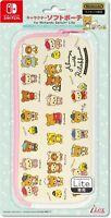 Nintendo Switch Lite Soft Pouch Case Bag San-X Rilakkuma Bear Pink Japan Game