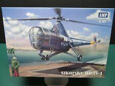 1/48 Helicopter kits, 3-kits, Amp Kaman, Amp Sikorsky H03S-1, Academy 500D