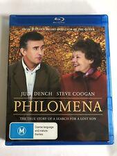 Philomena (Blu-ray, 2014) VGC Movie 🍿 Judi Dench Steve Coogan Region B