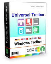 Universal Treiber Software für PC Notebook & Laptop, Windows 10, 8, 7, Vista, XP