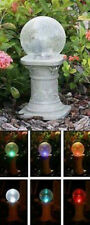 Garden Light Decor Solar Gazing Ball Lawn Yard Sculpture Color Change Globe Gift