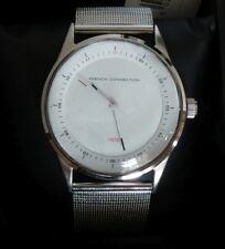 French Connection Herren Armbanduhr Analog Quarz SFC110SM Milanaise Armband