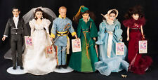 Gone With The Wind Collection World Doll Rhett Scarlett Melanie Ashley Lot of 6