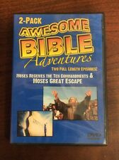 Awesome Bible Adventures 2 Pack Moses Receives The Ten Commandments