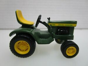 John Deere 140 Tractor Mini  Metal Die Cast Toy Approx 2 inch (D)