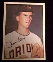 LARRY HANEY 1978 TOPPS Autographed Signed AUTO Baseball Card 1960'S ORIOLES