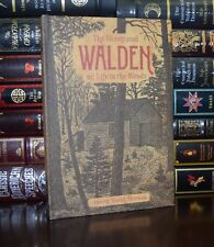 Illustrated Walden Life in the Woods by Henry David Thoreau New Deluxe Hardcover