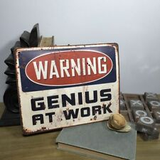 Office Tin Rectangle Decorative Plaques & Signs