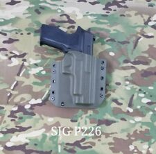 SIG SAUER P226 9/40 Kydex Holster Outside Waistband OD Green