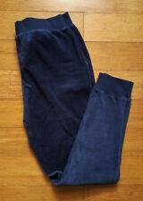 Victoria's Secret velour jogger pants navy blue size S